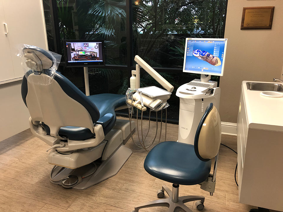 One of the welcoming dental operatories of McDonald Dental in Houston, TX